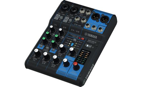 Yamaha MG Series 6-Channel Stereo Mixer with Effects