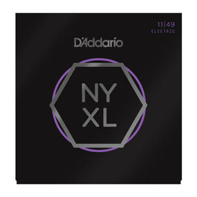 D'Addario NYXL Medium Nickel Wound Electric Guitar Strings, 11-49