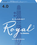 Rico Royal Eb Clarinet Reeds, 10-Pack