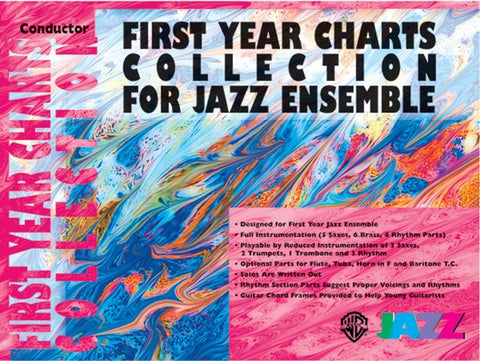 First Year Charts Collection for Jazz Ensemble, Trombone 1