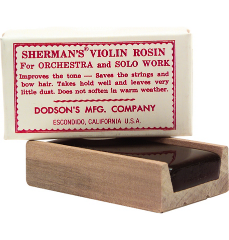 Sherman's Dark Violin and Viola Rosin