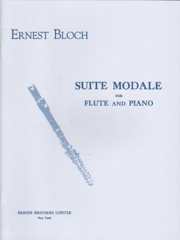 Suite Modale for Flute and Piano - Bloch