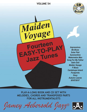 Jamey Aebersold Jazz Volume 54: Maiden Voyage