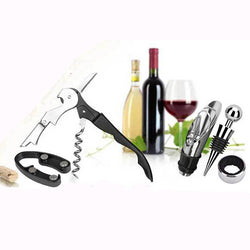 5Pcs Wine Tool Sets Corkscrew