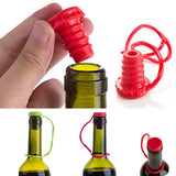 Creative Convenient Silicone Pure Color Wine Beer Bottle Stopper Cap Cover Sealer