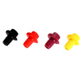 Kitchen Bar Tools Silicone Wine Bottle Stoppers Keep Vacuum Sealed Spout Liquor Flow Stopper Pour Cap Bottle Cover