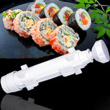 Make Sushi Roller Kit Sushi Mold Maker Bazooka Sushi Rolls Making Tool Rice Mould Roller Cooking Tools