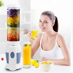 NEWEST 500ML Multifunctional Portable MINI Fruit Smoothie Blender Juice Mixer Electric Juicer Machines Cup Mini liquidizer
