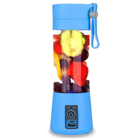 Portable USB Electric Fruit Citrus Juicer Bottle Handheld Milkshake Smoothie Maker Rechargeable Juice Blender