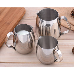 Thickened Stainless Steel Espresso Coffee Milk Cup Mugs Caneca Thermo Steaming Frothing Pitcher Frothers Latte Art