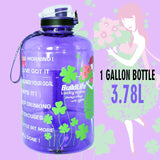 Sport Big Gallon Water Bottle With Filter
