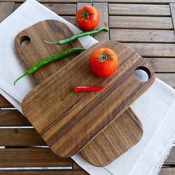 Creative Wooden Cutting Board Chopping Block Kitchen Baking Bread Fruit Pizza Plate Chopping Board Restoring No Painting
