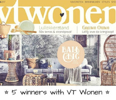 Vt wonen has contacted us for an article on their facebook lifestyle magazine interior design flair libelle sanoma