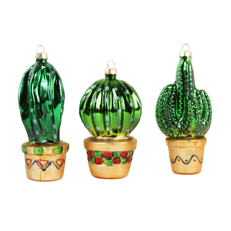 Mme Bovary Castus plant ornaments vintage kerstballen retro decoration christmas xmas gift presents weinachten kerstmis