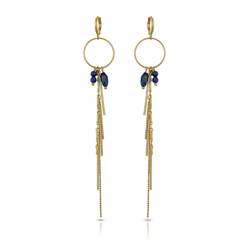 Mme Bovary Bovary Studio Party Collection Lapis Lazuli Halfedelsteen