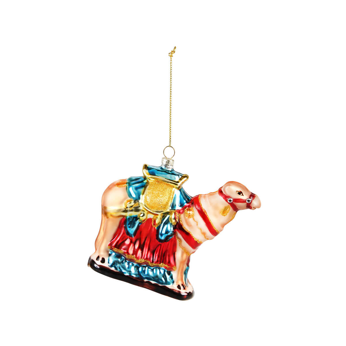 Mme Bovary Christmas Camel Oranment kerstballen glas vintage large handmade retro nature inspired &klevering decoration xmas