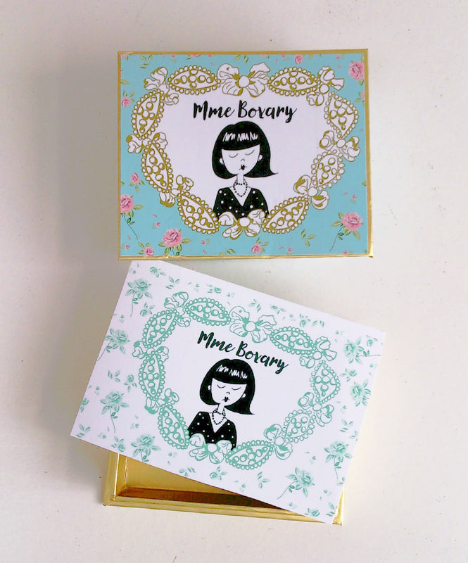 Mme Bovary Giftvoucher gift certificate gift cadeau perfect present cover