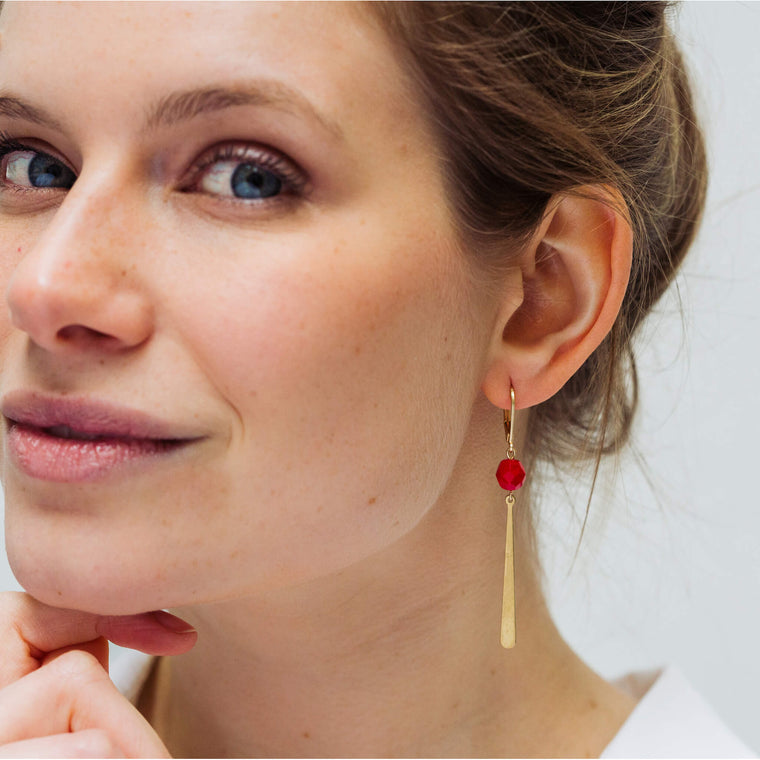 Allora Marilyn Red (earrings only)