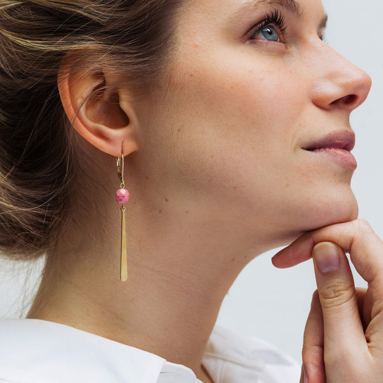 Allora Soft Pink (earrings only)