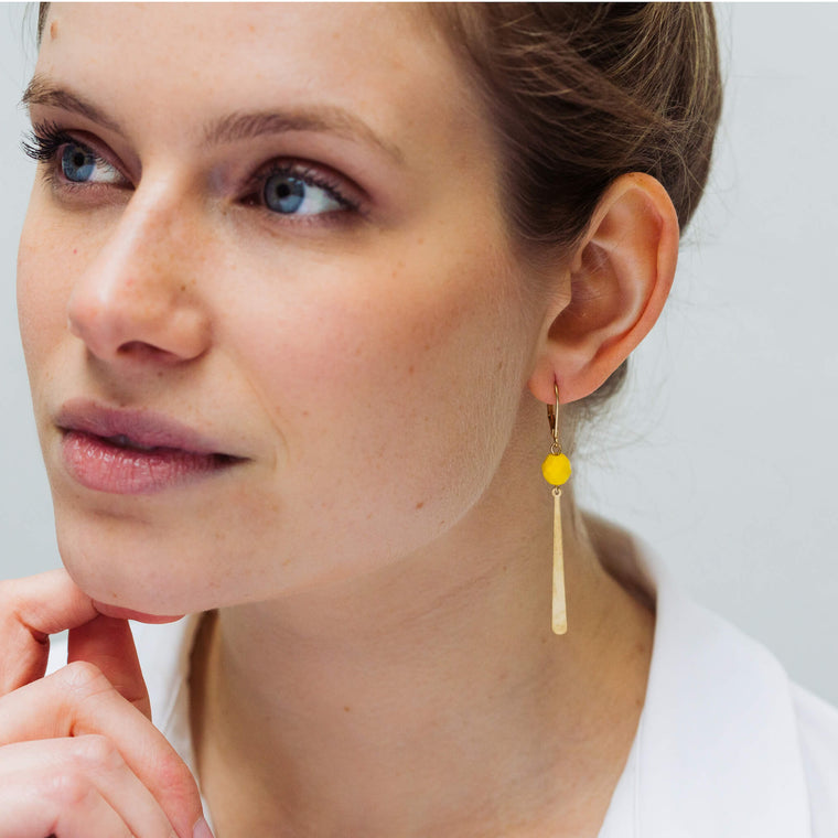 Allora Yellow (earrings only)