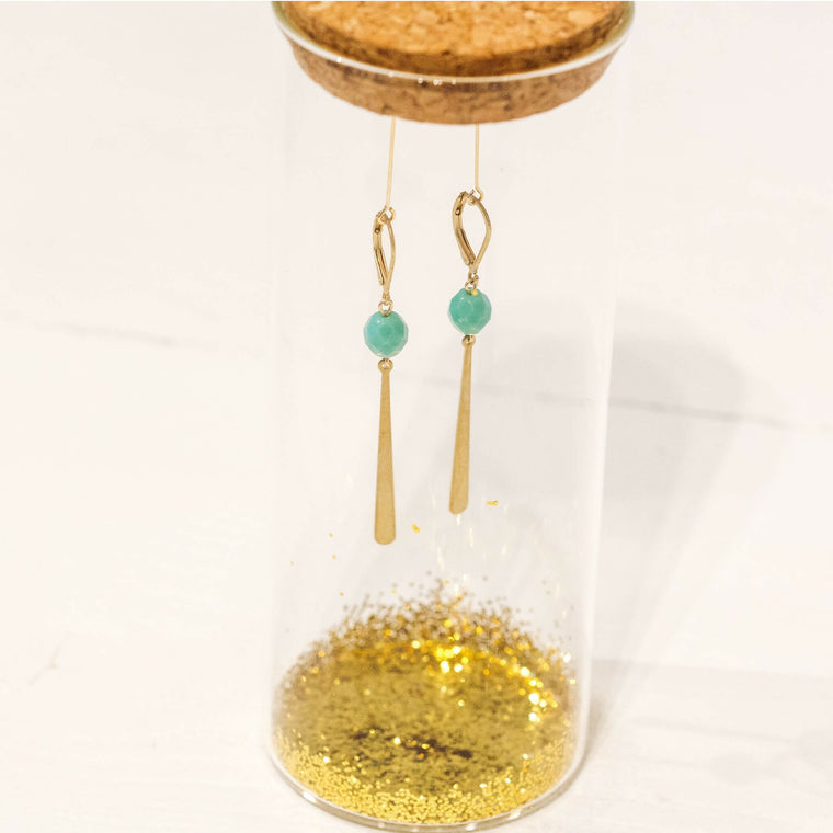Allora Mos Groen (earrings only)