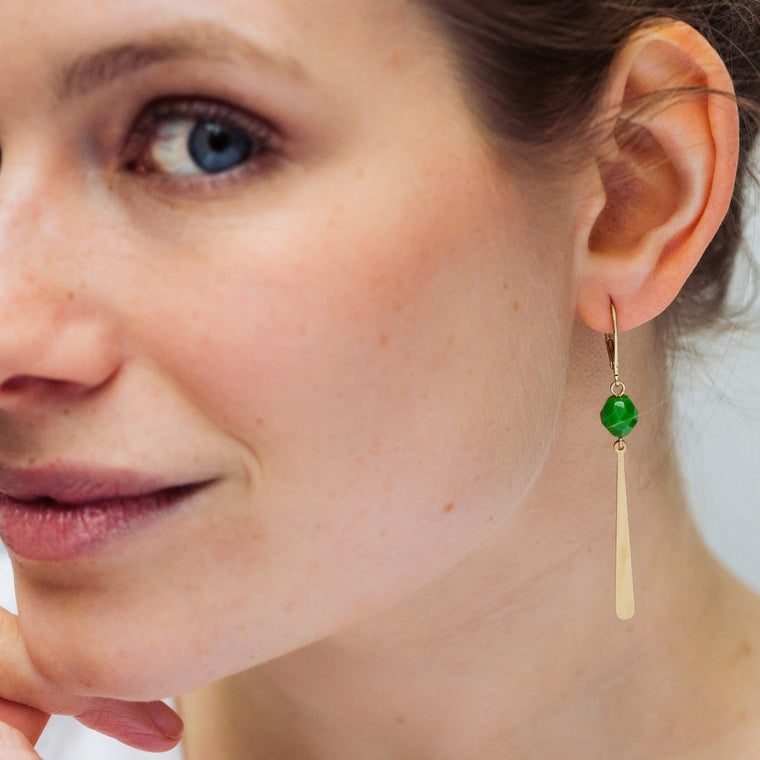 Allora Moss Green (earrings only)