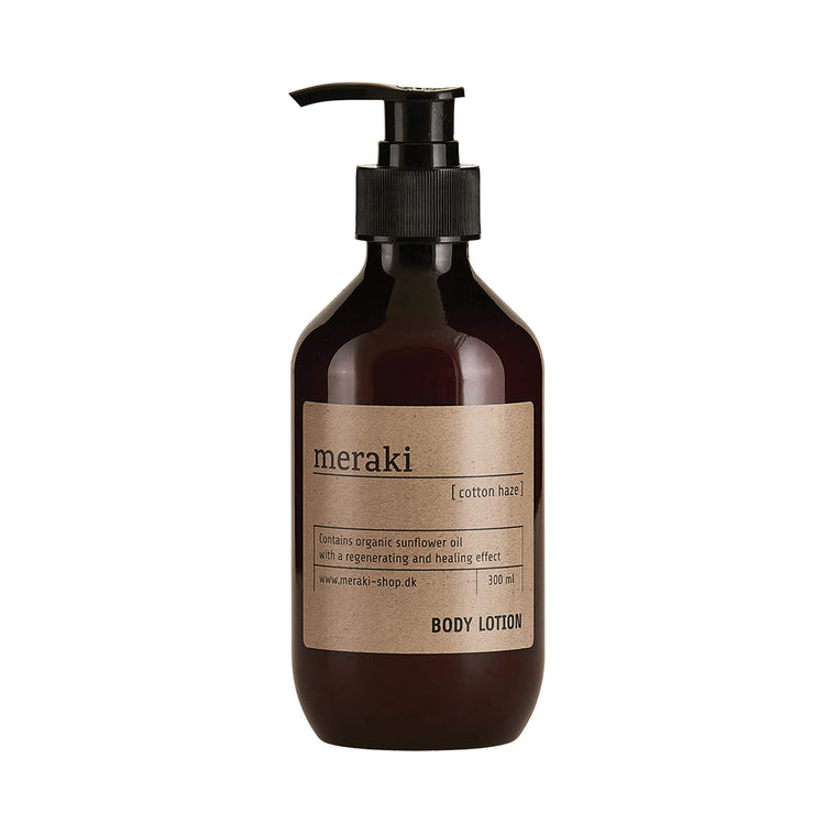 Meraki Bodylotion COTTON HAZE - met zoete amandelolie