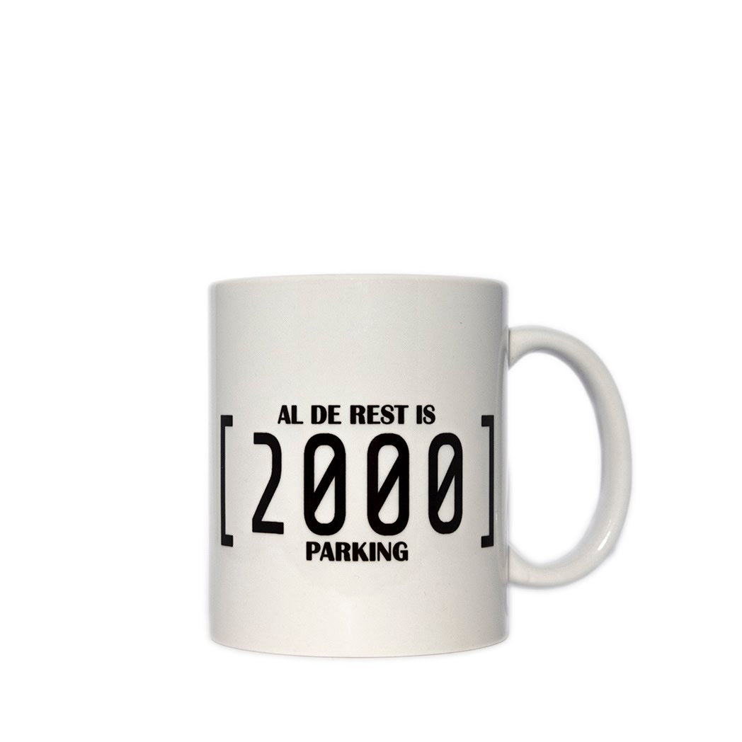 Mme Bovary Mug Tas 2000 Al De Rest Is Parking