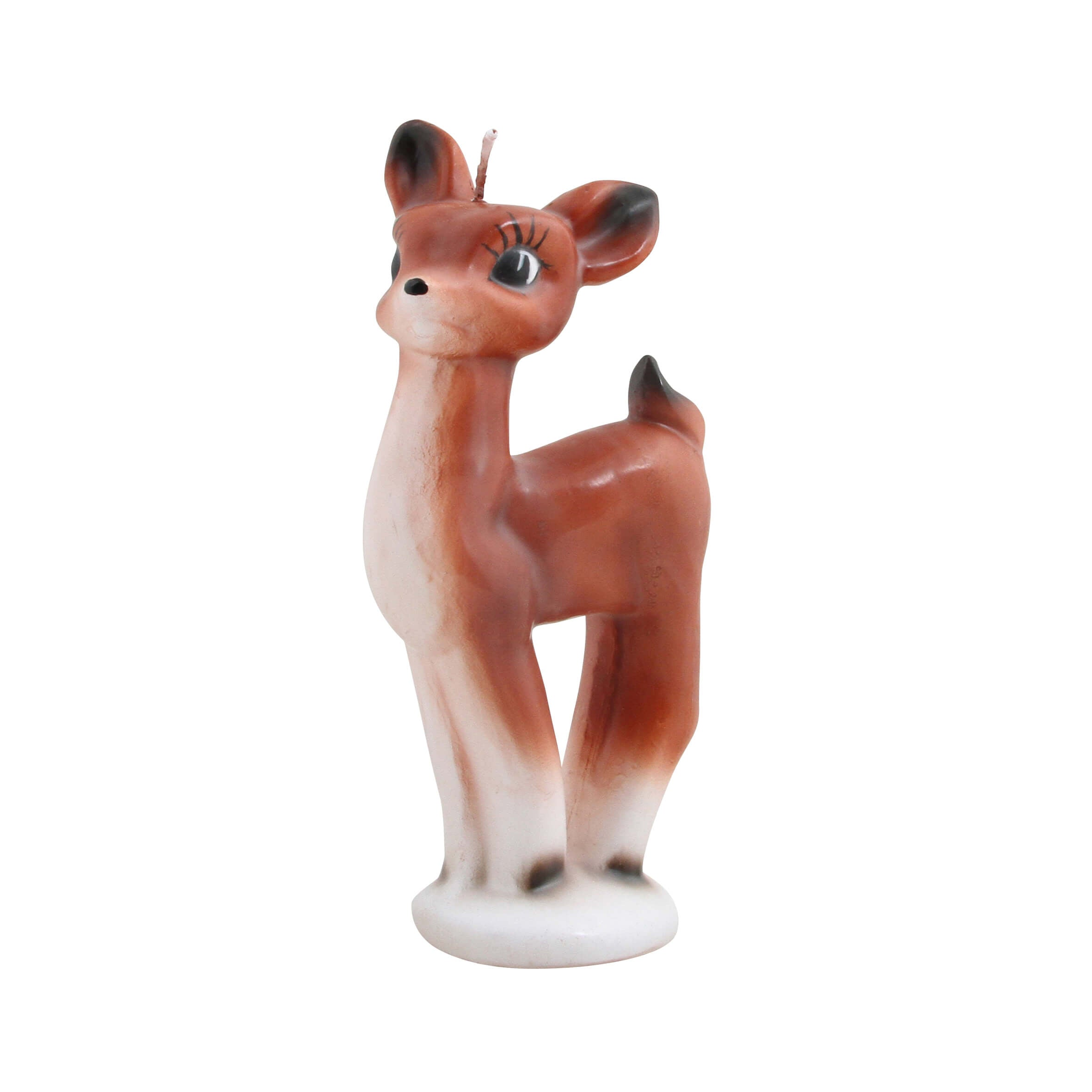 Mme Bovary vintage large candle waxine handpainted handmade retro vintage inspired Bambi &klevering decoration christmas xmas