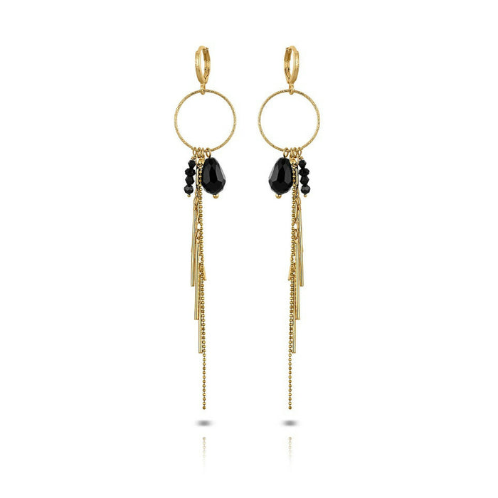 Mme bovary bovary studio party collection black jet black onyx facet