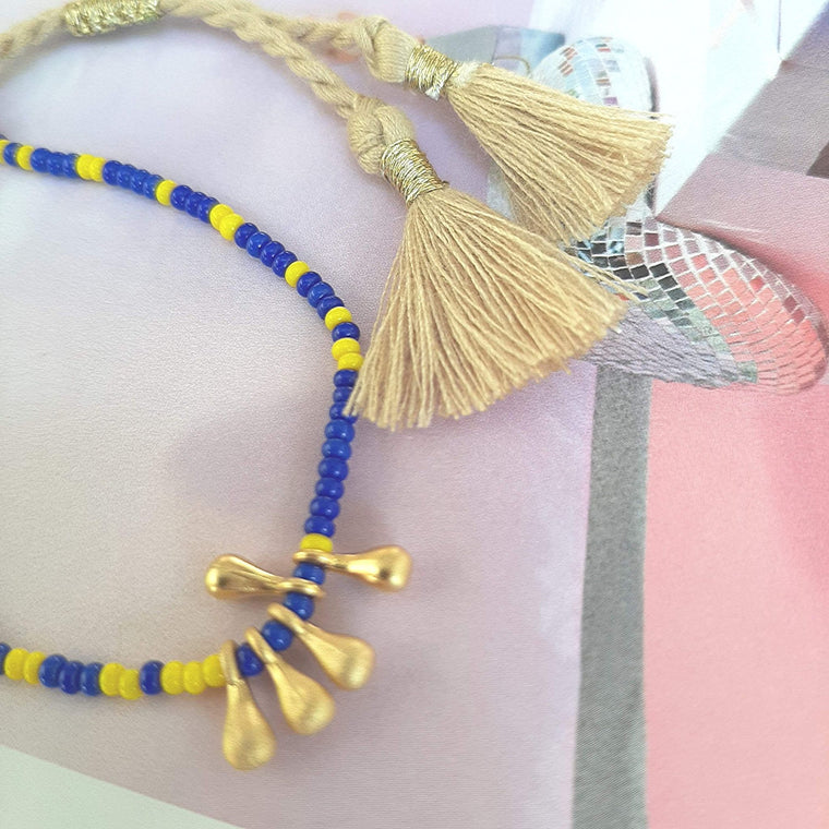 Bracelet Marine & Yellow