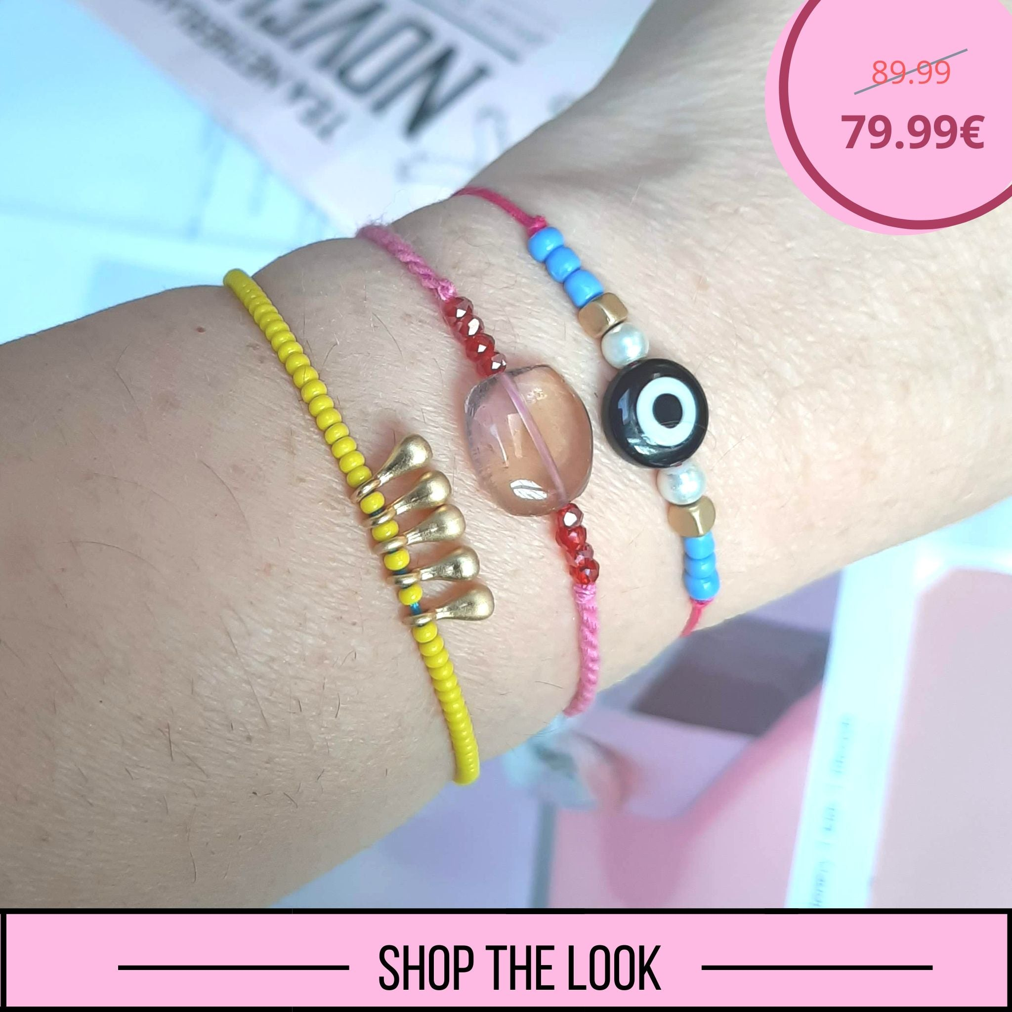 SHOP THE LOOK (Pink Jade & Yellow)