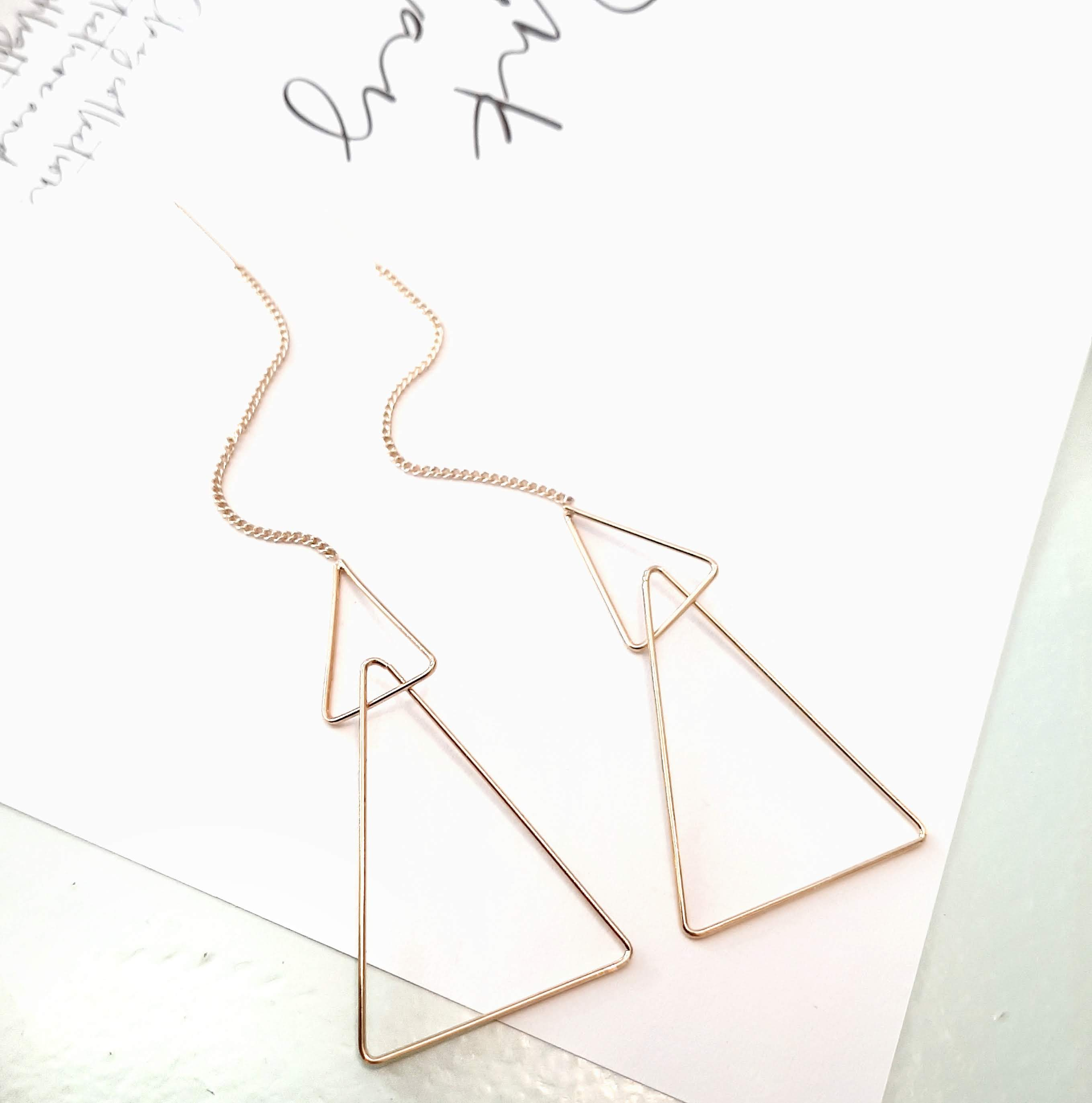 triangel earrings antwerp