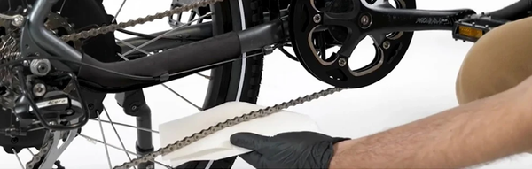 How to clean your electric bike chain