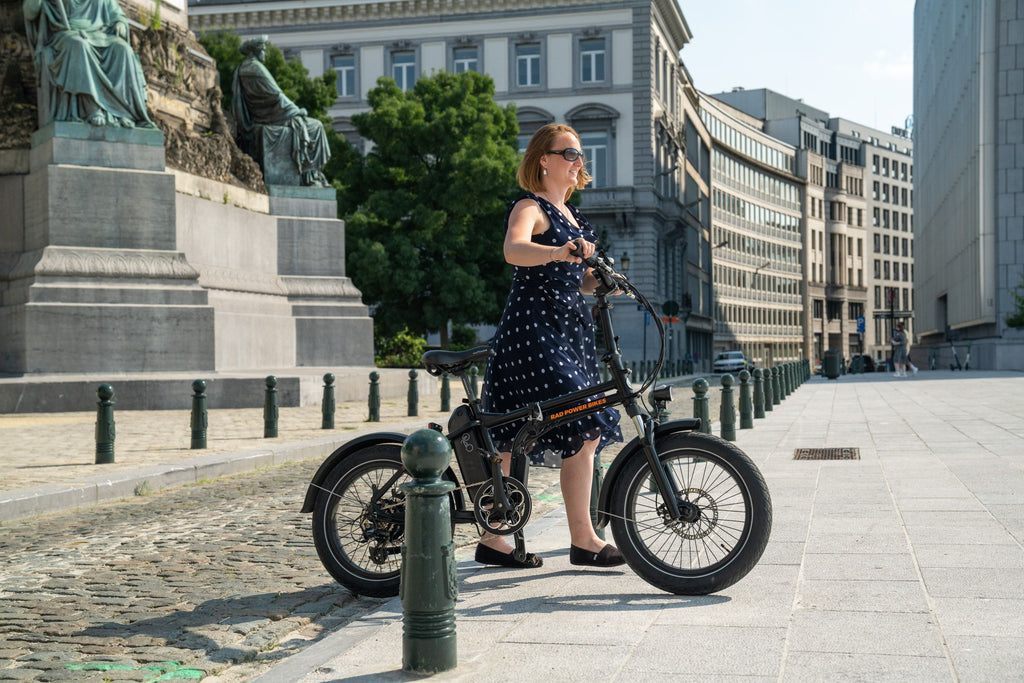 Get used to your new ebike