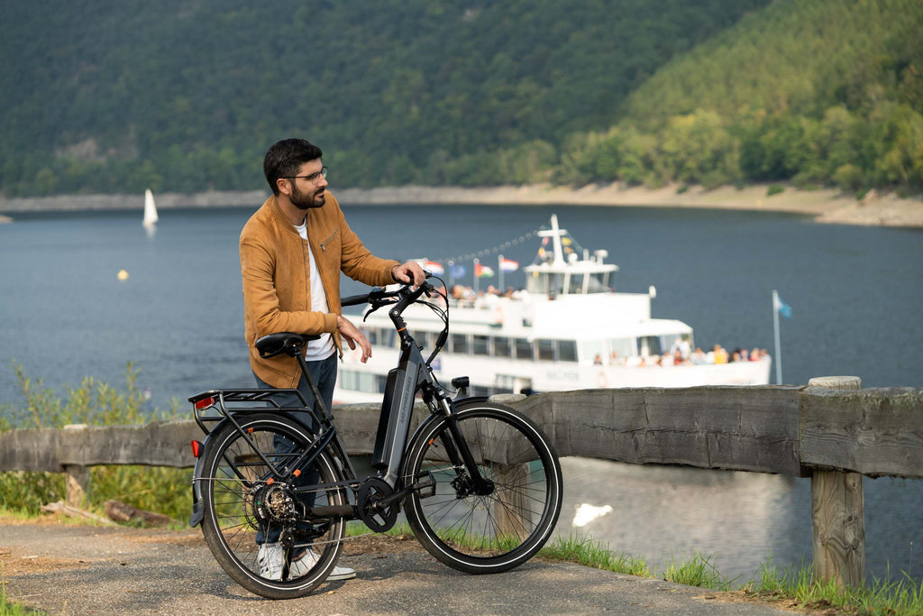 Ride your ebike for mental health