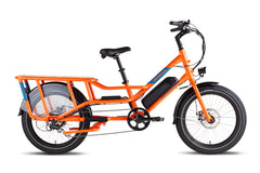 RadWagon 4 Electric Cargo Bike - orange