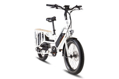RadWagon 4 Electric Cargo Bike - white