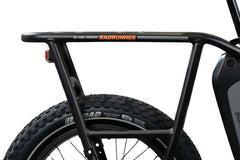 rear rack of RadRunner Electric Bike