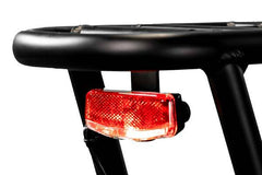 rear rack with intergrated rear light