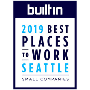 Built In Seattle Award Badge