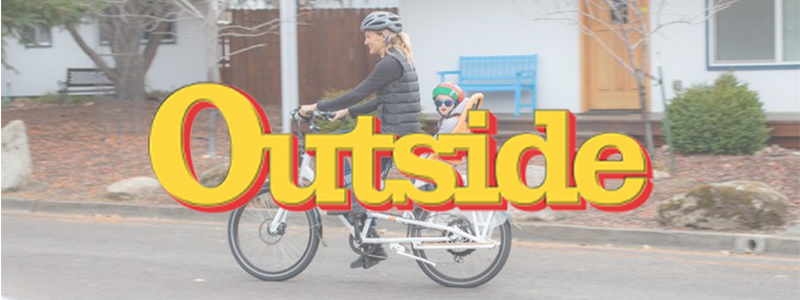 Outside Logo over person riding RadWagon