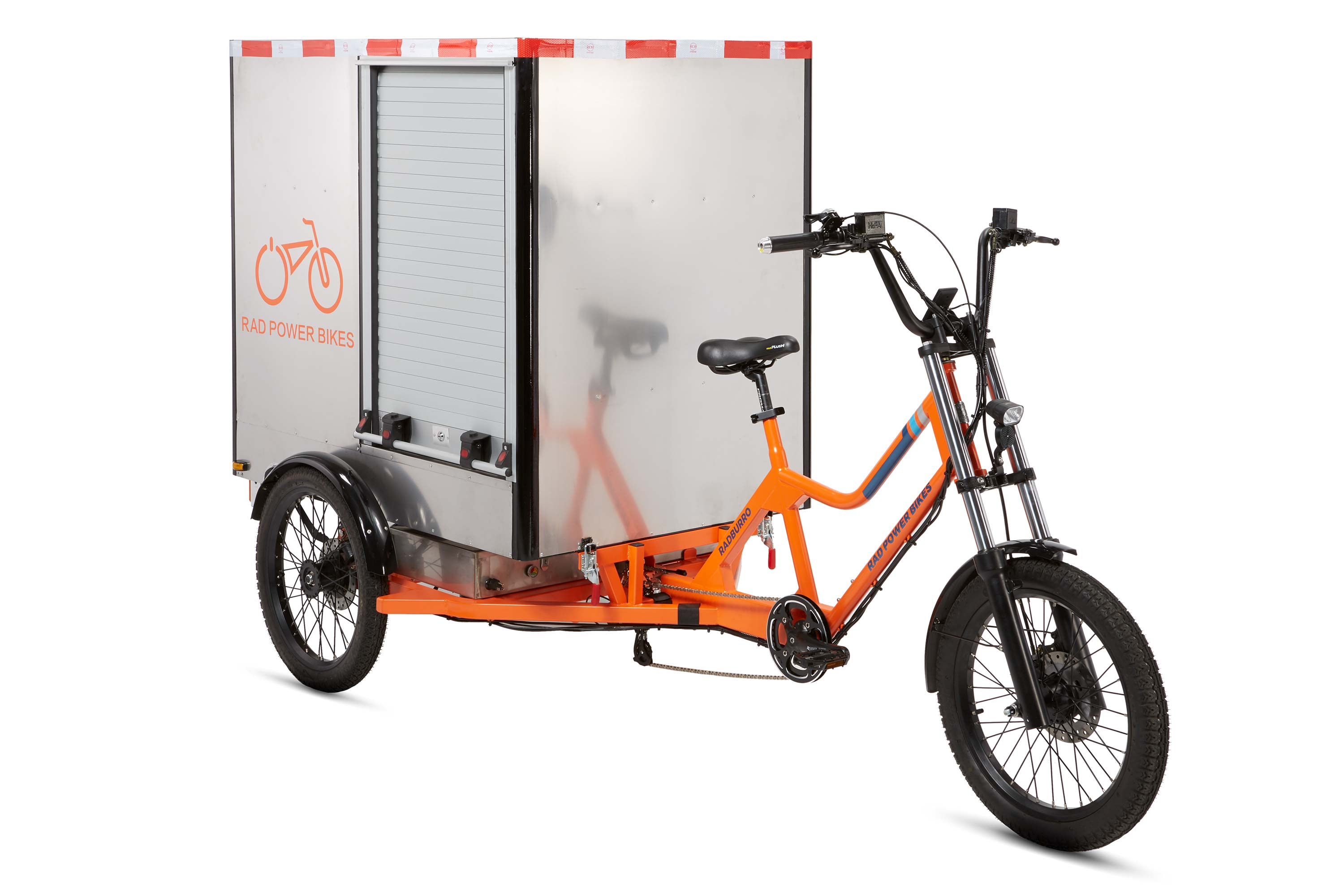 RadBurro Electric Cargo Trike cargo box