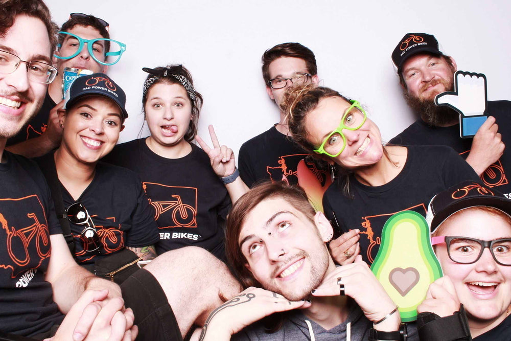 Rad Team photo booth 1