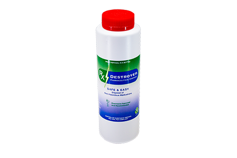 RX DESTROYER DRUG DISPOSAL 12-16OZ