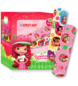 Strawberry Shortcake Adhesive Bandages