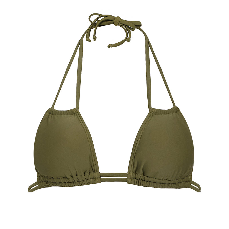 FRANCESCA TOP- OLIVE GREEN