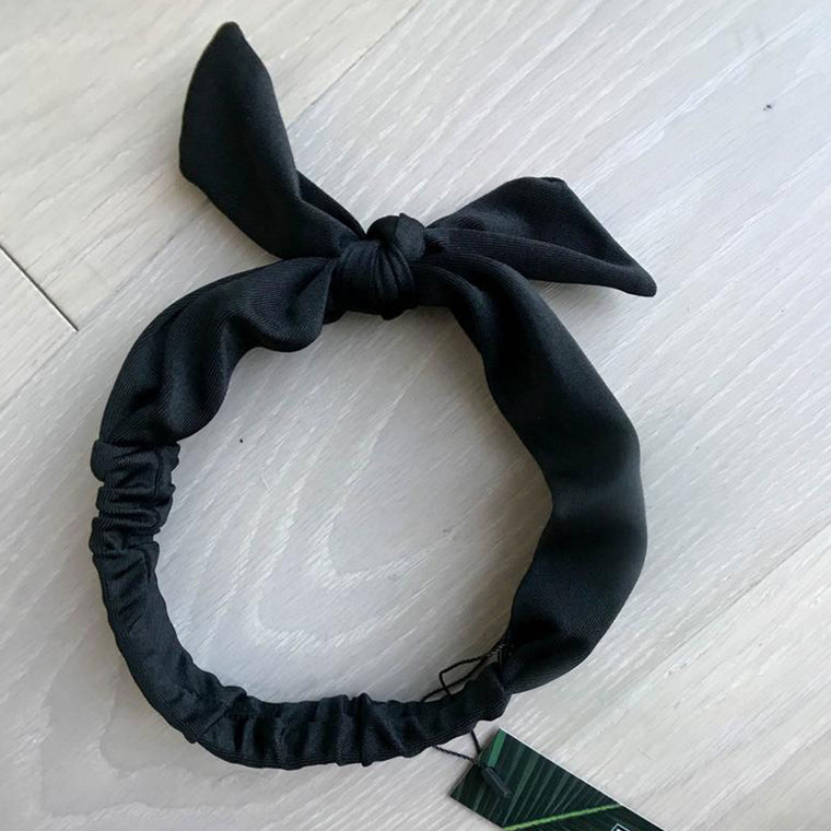 HEADBAND & HAIR TIE- SHADOW
