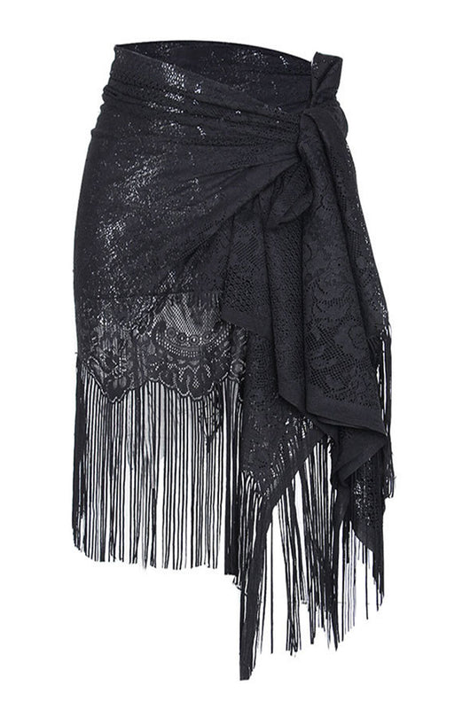 PAULA- SKIRT COVERUP- BLACK
