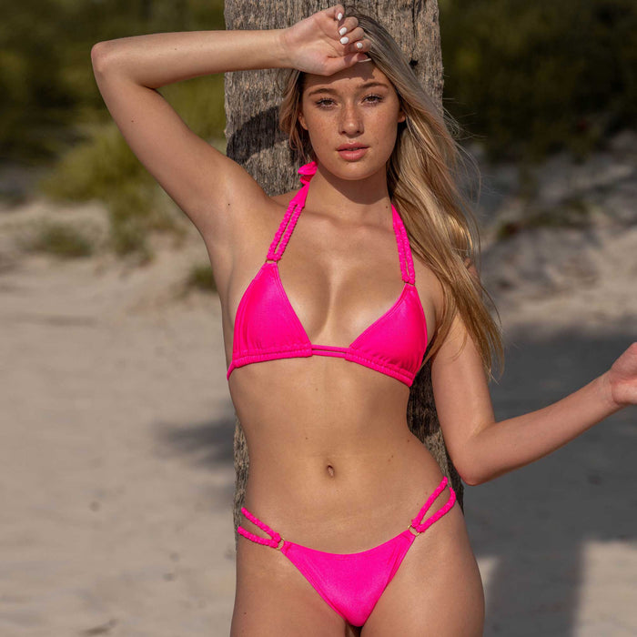 NATALIE BOTTOM- HOT PINK